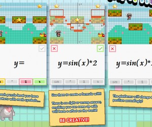 Ace Mathician! Combines Platforming, Puzzles and Math: Algebraic!
