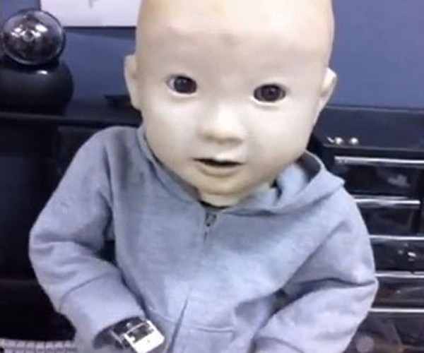 Baby Robot Affetto is One Creepy Looking RoboTot