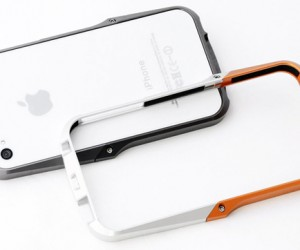 Ag++ Aluminum iPhone Case: Metal Goodness