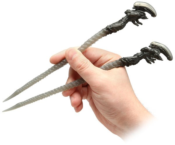 aliens chopsticks 2