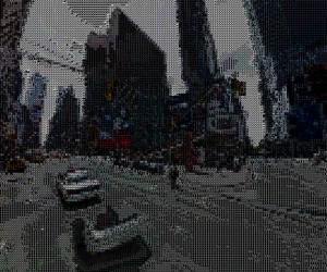 ASCII Street View: Look at the Matrix