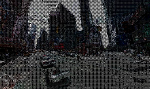 ascii street view by peter nitsch