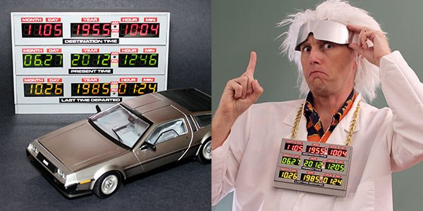 back to the future time circuit clock by adafruit industries 2