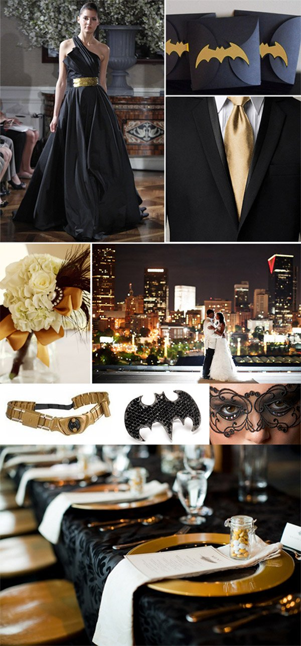 batman wedding ideas