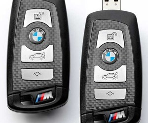 Flash Drive Packed inside a Real BMW M Keyfob