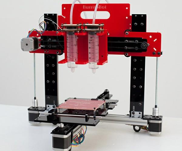 Burritob0t 3D Printer Outputs Delicious Tex-Mex