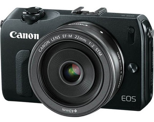 canon eos m mirrorless micro four third camera