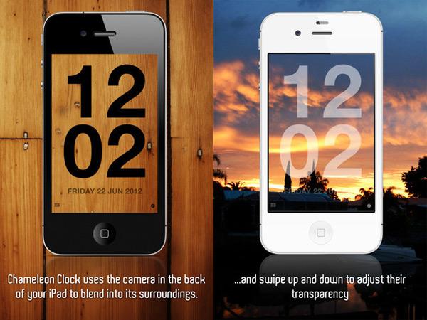 chameleon clock app ios windown iphone ipad
