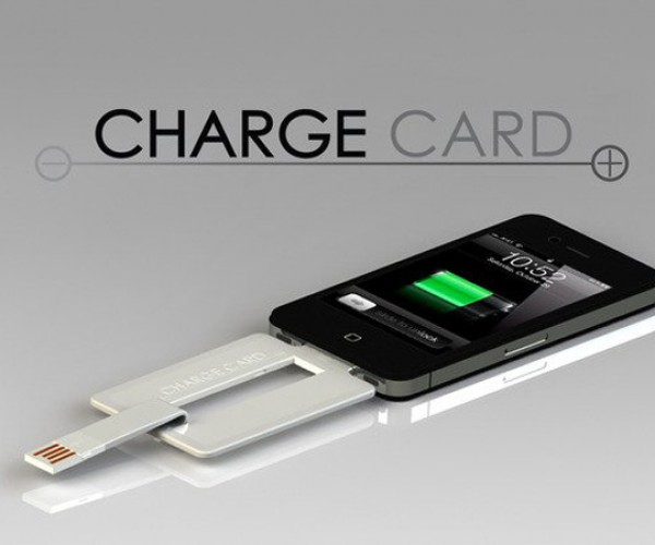 ChargeCard For iPhone: The USB Cable Slims Down