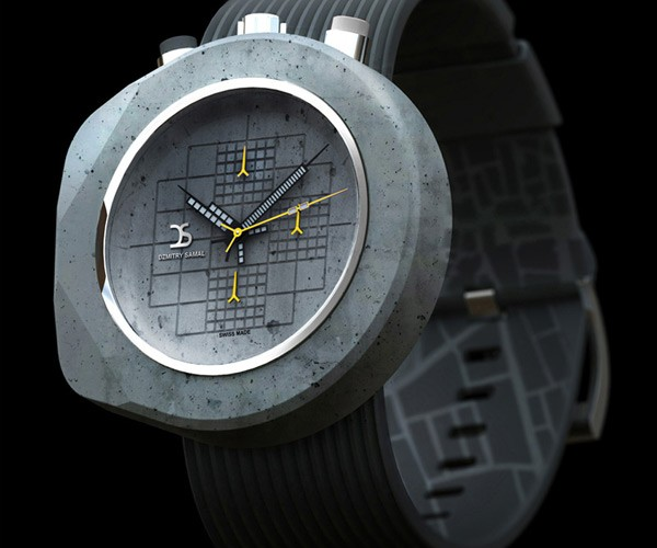 Concrete Watches Look Heavier Than They Are