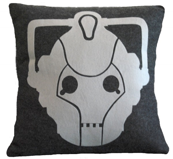 cyberman pillow