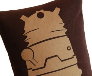 Doctor Who Pillows for When You Inevitably Don't Blink for Several Hours
