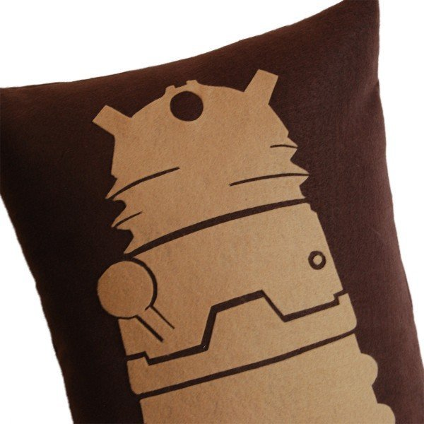 dalek pillow