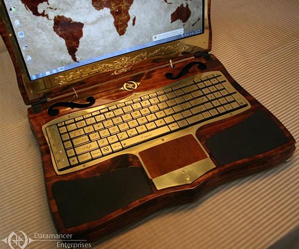 datamancer steampunk laptop 2nd revision 5