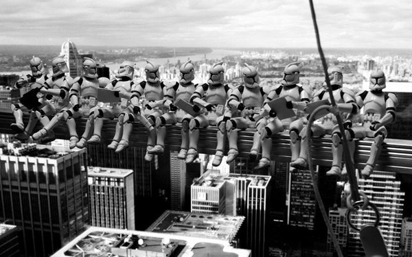 david eger 365 days of clones troopers skyscraper