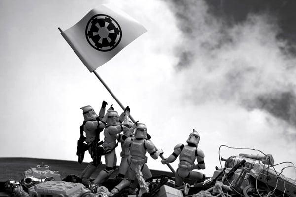 david eger 365 days of clones troopers star wars