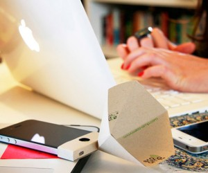 Eco-Amp: The Papercraft Passive Amplifier