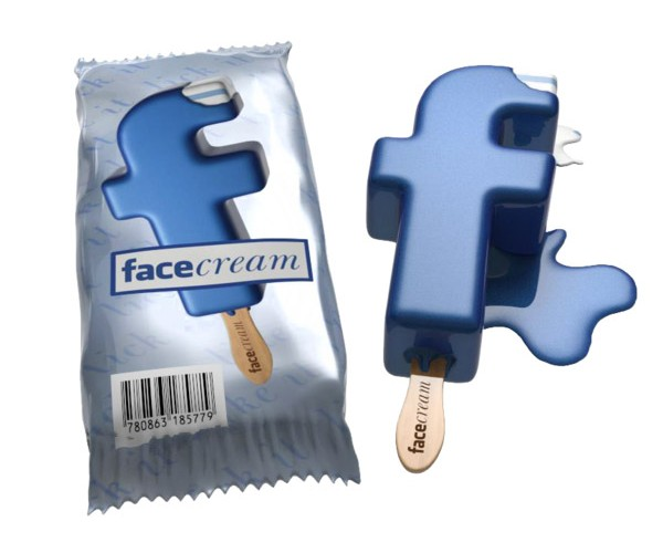 Facebook + Ice Cream = Facecream?