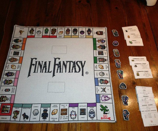 Final Fantasy III Monopoly: Go and Collect 200 Gil