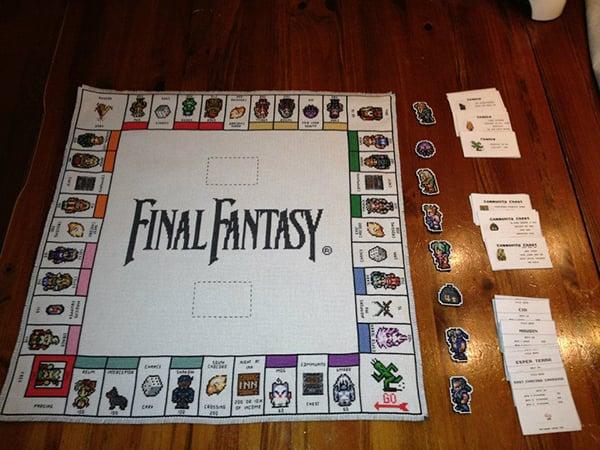 final fantasy iii monopoly