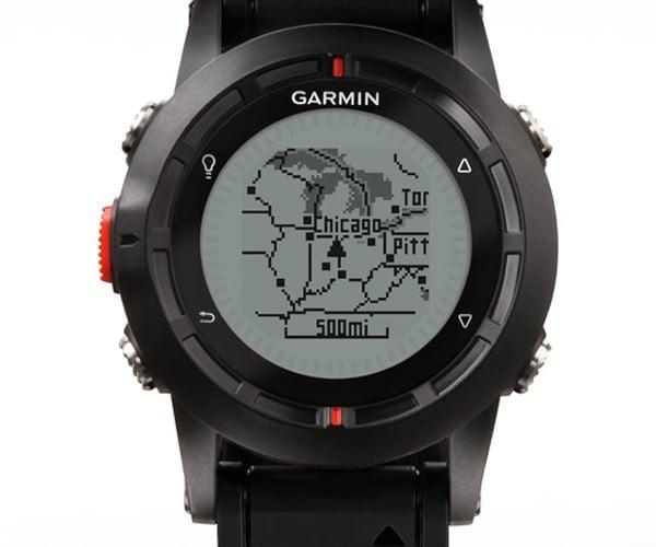 Garmin Fenix GPS Watch for Geeking out in the Great Outdoors