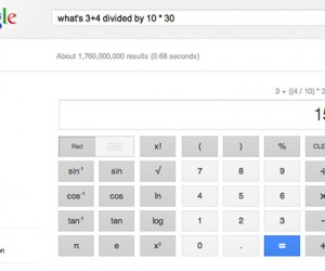 Google Launches Voice Enabled 34-Button Scientific Calculator