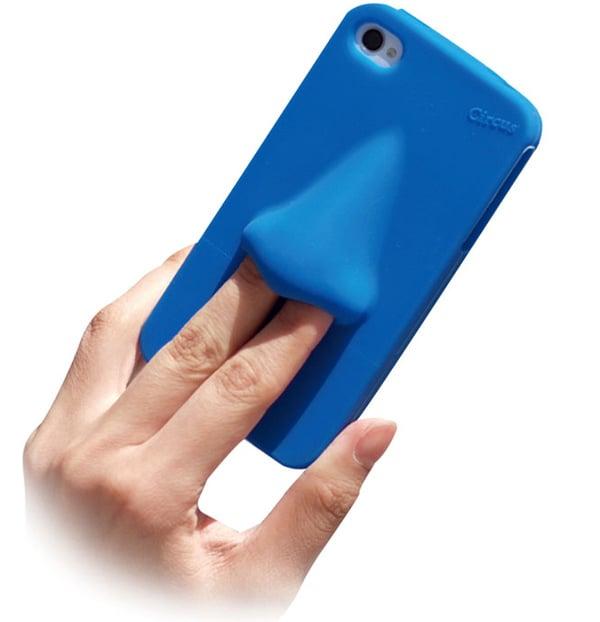 hana nose picker circus iphone case silicone