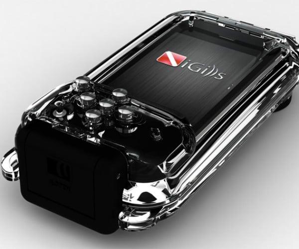 iGills iPhone Case Dives Deep Underwater