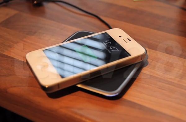 iphone 4s powermat wireless charging mod