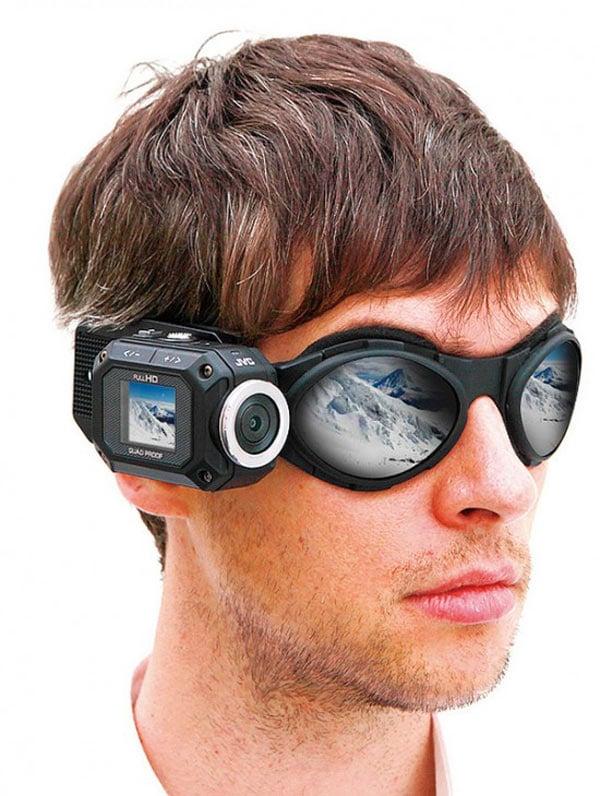 jvc adixxion rugged camcorder head mount