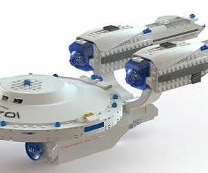 KRE-O to Unveil Official Star Trek Building Kits at Comic-Con