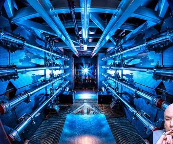 500 Trillion Watt Laser Would Make Doctor Evil Proud
