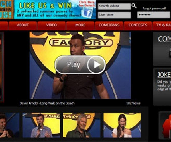 PS3 Gets Laugh Factory Comedy App