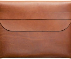 Defy Bags Aesthetic Leather iPad Sleeve Adds Style and Sophistication to Protection