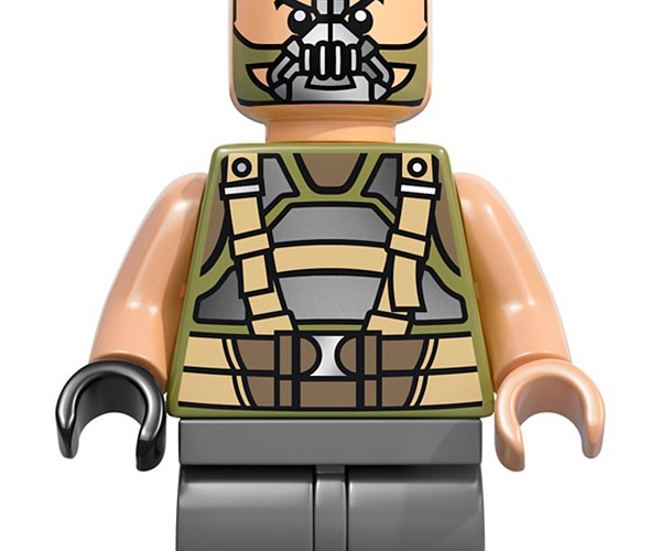 lego dark knight rises batman bane minifig 3