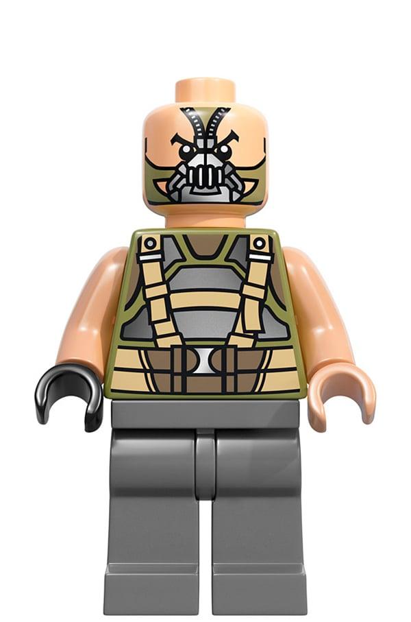 Lego Dark Knight Rises Batman Bane Minifig 3 Technabob