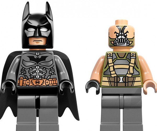 lego dark knight rises batman bane minifig