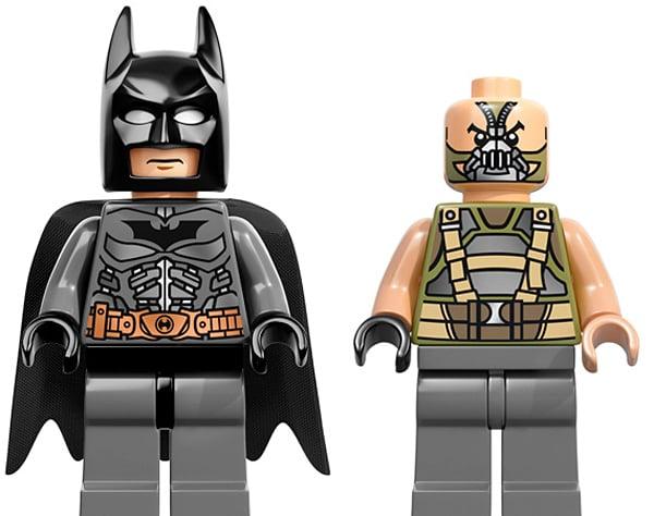 lego dark knight rises batman bane minifig