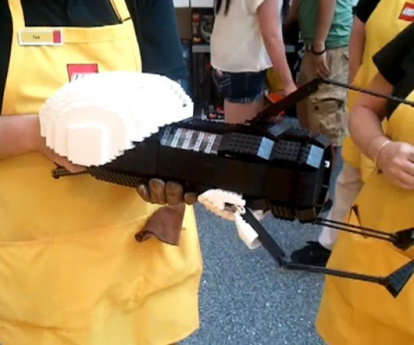 LEGO Portal Gun Doesn't Open Shortcuts to Legoland