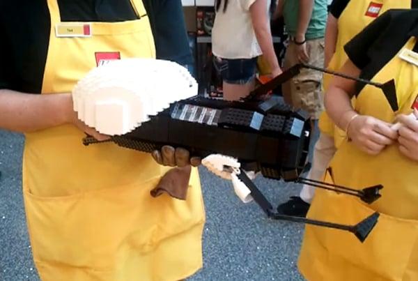 Lego Portal Gun Doesn T Open Shortcuts To Legoland Technabob