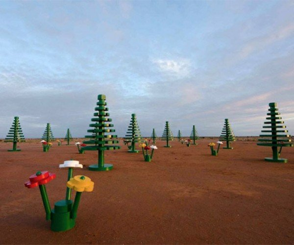 A Life-Size LEGO Forest Grows in the Australian Outback
