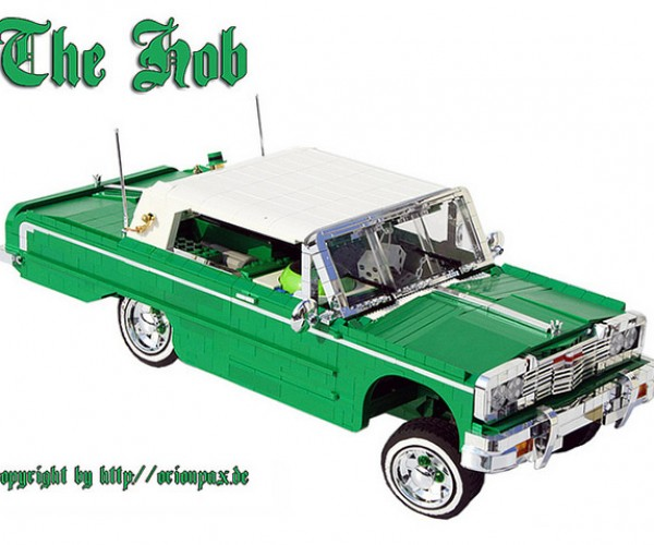 LEGO Low Rider Gets Its Bounce on