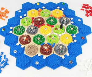LEGO Settlers of Catan: There's Nothing Boring About This Board Game