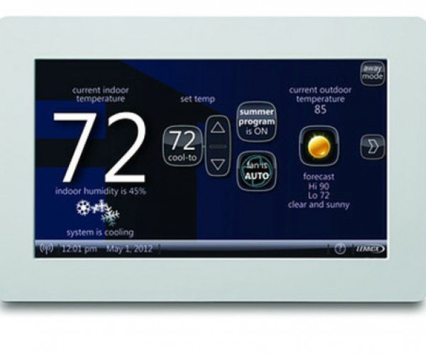 Lennox icomfort Wi-Fi Thermostat Geeks up a Boring Air Conditioning System