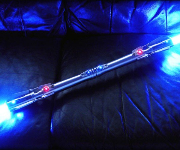 Custom Double-Bladed Lightsaber Outsabers Darth Maul