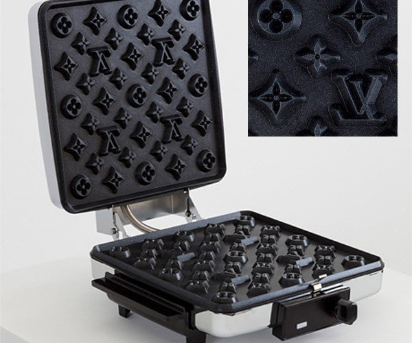Fancy up Your Breakfast with the Louis Vuitton Waffle Maker