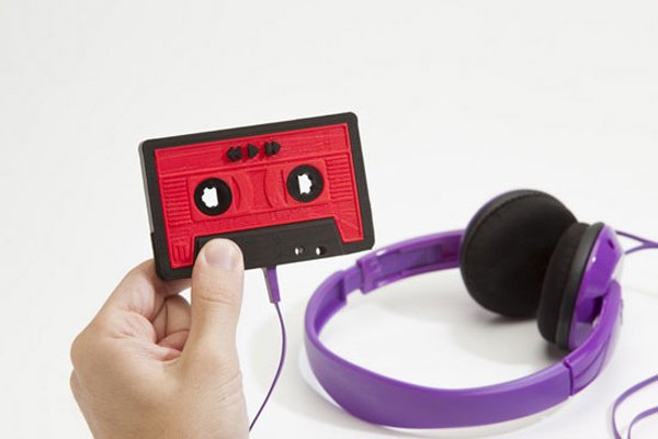 makerbot mixtape 3d printed mp3 player diy