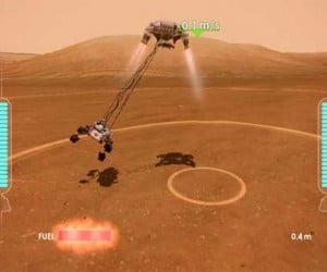 NASA Unveils Mars Rover Landing for Xbox Kinect