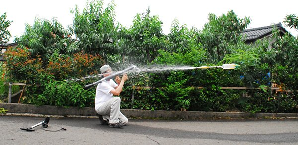 maruda rpg 7 water bottle launcher 3