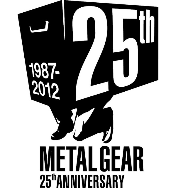 metal gear 25th anniversary logo